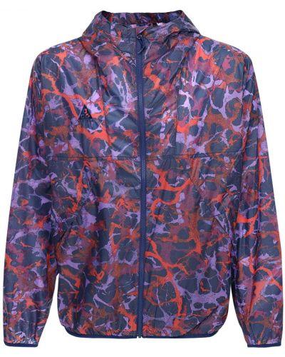 Синяя куртка с капюшоном с сеткой Nike Acg