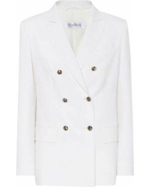 Пиджак шерстяной белый Max Mara