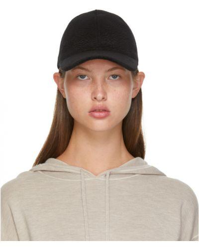 Czarna czapka wełniana Max Mara