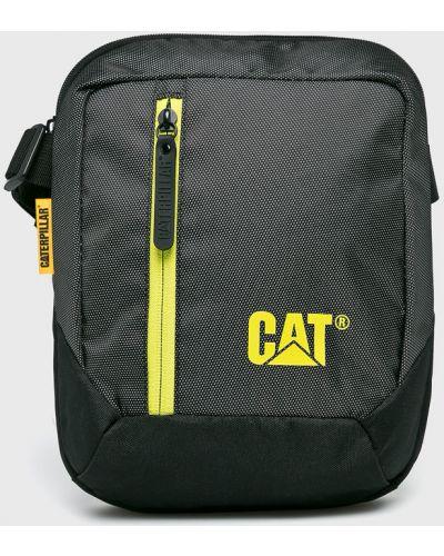 Сумка через плечо длинная - черная Caterpillar