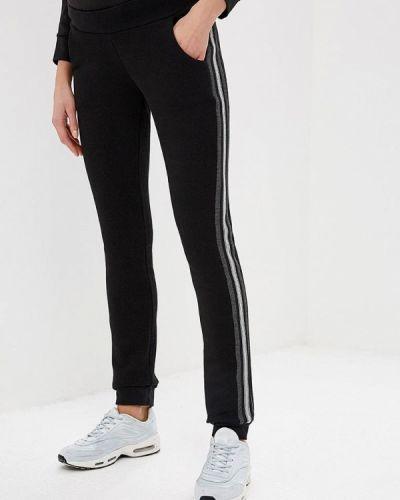 Спортивные брюки - черные мамуля красотуля ..в ожидании чуда