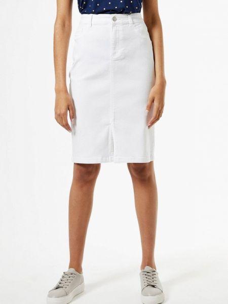 Джинсовая юбка белая весенняя Dorothy Perkins