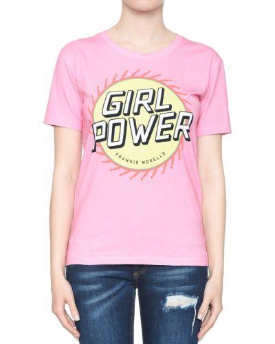 Розовая футболка Frankie Morello