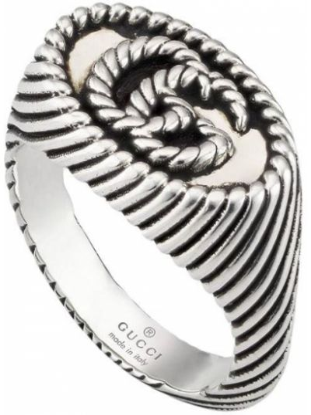 Pierścionek, srebro Gucci