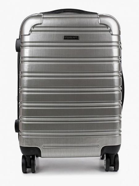 Серебряный чемодан Polar