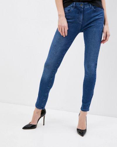 Синие джинсы-скинни узкого кроя Patrizia Pepe