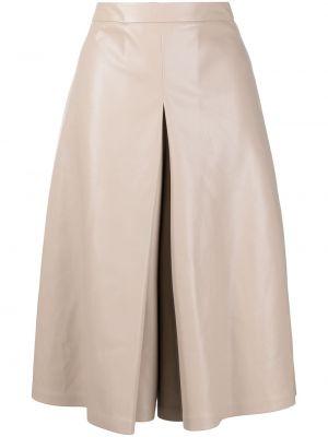 С завышенной талией плиссированная юбка миди Maison Margiela