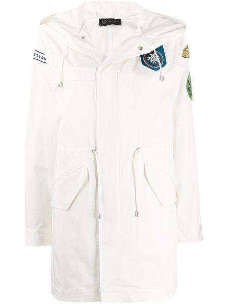 Пальто с капюшоном - белое Mr & Mrs Italy