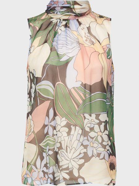 Шелковая блузка на пуговицах Luisa Spagnoli