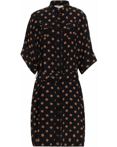 Шелковое платье - черное Zimmermann