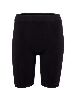 Нейлоновые черные короткие шорты стрейч Helmut Lang