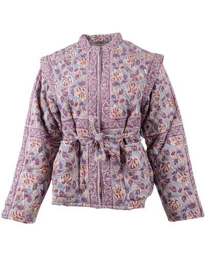 Różowa kurtka Antik Batik