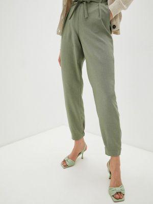 Зауженные зеленые брюки Lamiavita