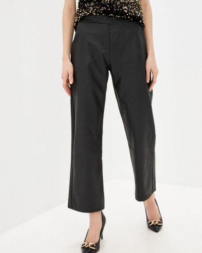 Кожаные брюки - черные Zabaione