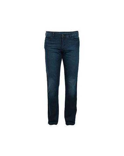 Джинсы с высокой посадкой прямые классические Armani Jeans