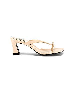 Кожаные туфли из натуральной кожи на каблуке Reike Nen