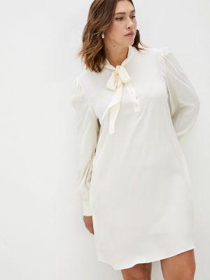Платье рубашка - бежевое Twinset Milano