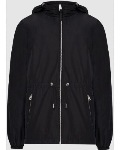 Черная куртка с перфорацией Mackage