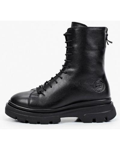 Черные ботинки из полиуретана Nexpero