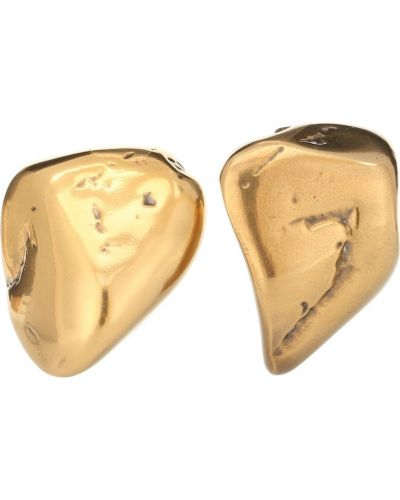 Золотые серьги серьги-кольца серьги-гвоздики Balenciaga