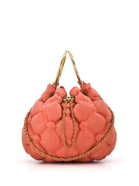 Кожаная сумка стеганая дутая Chanel Pre-owned