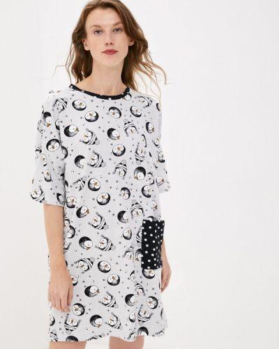 Домашнее черное платье Hays