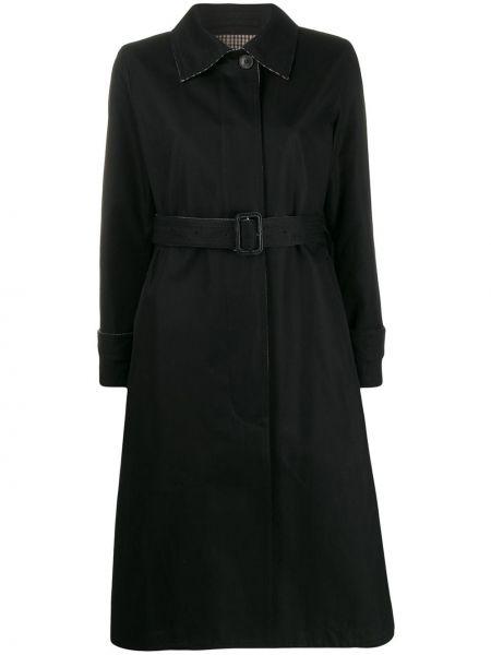 Шерстяное пальто классическое с воротником двустороннее на пуговицах Mackintosh