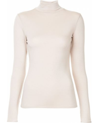 Розовая приталенная рубашка Layeur