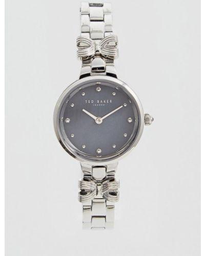 Часы серебряные весенний Ted Baker London