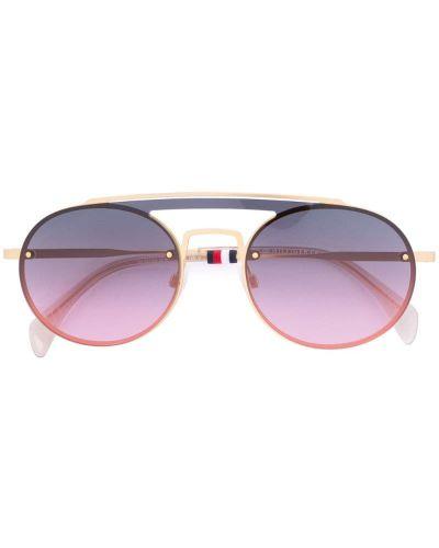 Солнцезащитные очки авиаторы Tommy Hilfiger