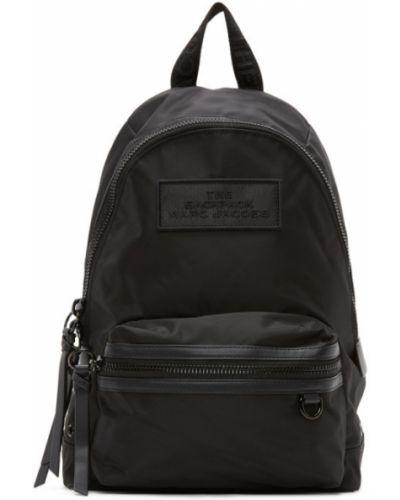 Кожаный рюкзак текстильный на молнии Marc Jacobs