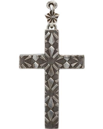 Серебряный крест Gucci