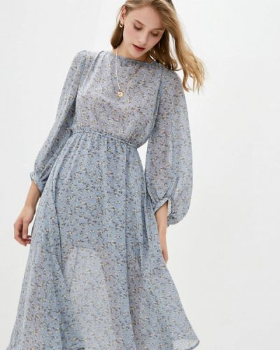 Прямое платье - голубое 7arrows