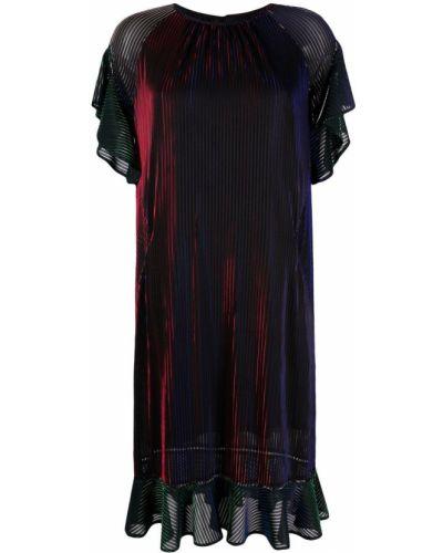 Платье мини с вырезом - красное Talbot Runhof