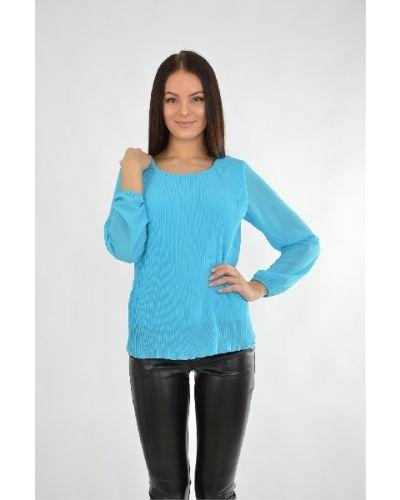 Шифоновая блузка - голубая Aurora Firenze