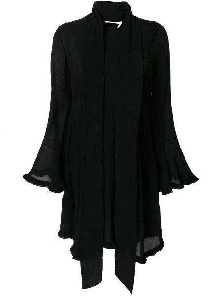 Платье макси на пуговицах шелковое Chloé
