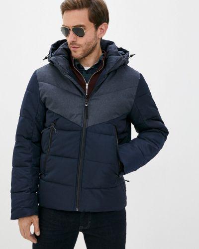 Теплая синяя джинсовая куртка Tom Tailor Denim