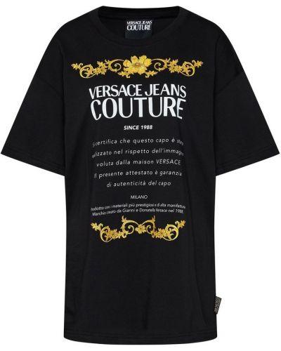 T-shirt z printem Versace Jeans Couture