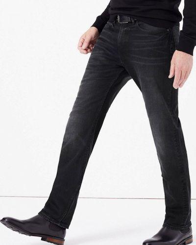 Черные джинсы-скинни из микрофибры Marks & Spencer
