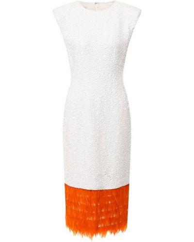 Платье с пайетками с бахромой Dries Van Noten