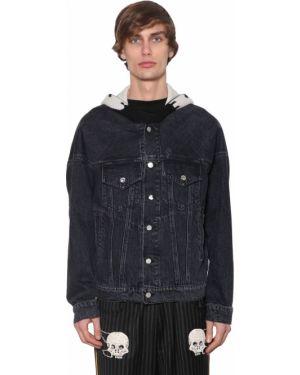 Czarne jeansy bawełniane z kapturem Lost Daze Ca
