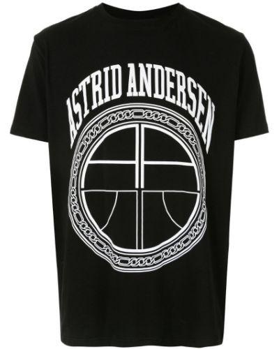 Черная базовая футболка Astrid Andersen