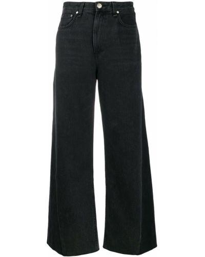 Широкие джинсы mom с накладными карманами Rag & Bone
