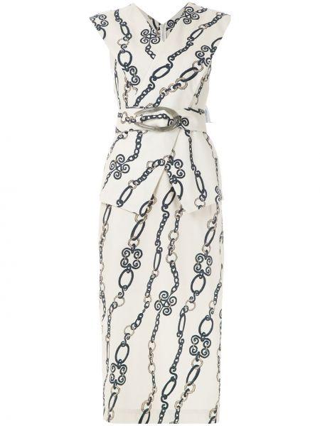 Платье миди с цепочкой Framed