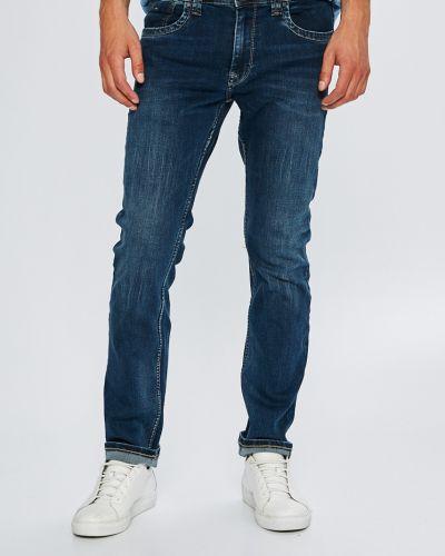 Прямые джинсы на пуговицах с карманами Pepe Jeans