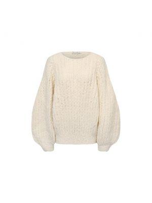 Шерстяной свитер - белый Jw Anderson