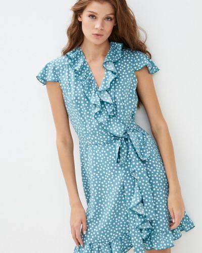 Платье с запахом - бирюзовое Imocean