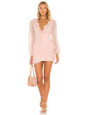Платье мини - розовое Majorelle
