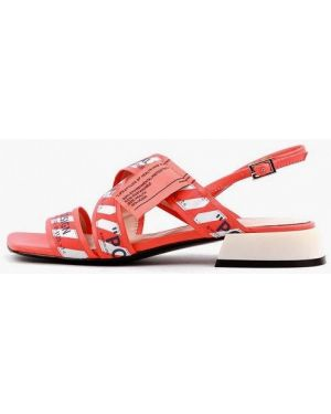 Оранжевые сандалии Sasha Fabiani