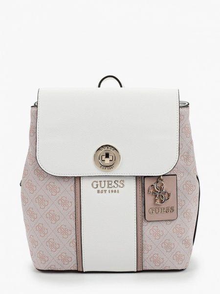 Городской розовый рюкзак из искусственной кожи Guess